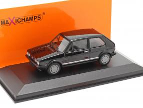 Volkswagen VW Golf 1 GTI year 1983 black 1:43 Minichamps