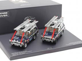 2-Car Set Land Rover British Trans-American expedition 1971-1972 1:43 Minichamps