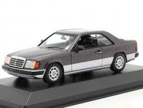 Mercedes-Benz 300 CE (C124) year 1991 dark purple metallic 1:43 Minichamps