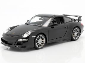 Porsche 911 (997) GT3 Year 2008 black 1:18 Welly