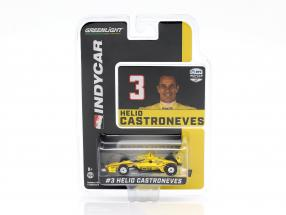 Helio Castroneves Chevrolet #3 Indycar Series 2020 Team Penske 1:64 Greenlight