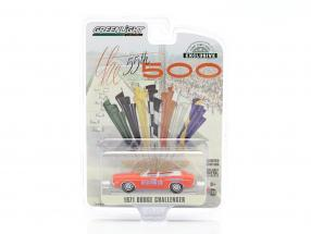 Dodge Challenger Convertible Pace Car 55th Indy 500 1971 orange 1:64 Greenlight