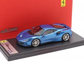 Ferrari F8 Tributo Geneva Motor Show 2019 blue metallic 1:43 LookSmart