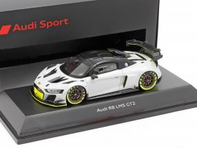 Audi R8 LMS GT2 Presentation Car grey / black / light green 1:43 Spark