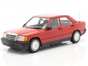 Mercedes-Benz 190E (W201) Construction year 1982 red 1:18 Minichamps
