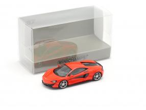 McLaren 570 S year 2016 red 1:87 Minichamps