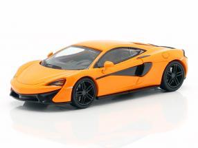 McLaren 570 S year 2016 orange 1:87 Minichamps