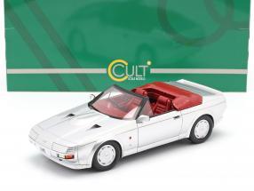 Aston Martin V8 Zagato Spyder year 1987 silver metallic 1:18 Cult Scale