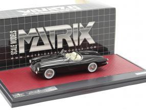 Ferrari 212/225 Inter Barchetta Touring year 1952 black 1:43 Matrix