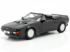 Aston Martin V8 Zagato Spyder year 1987 black metallic 1:18 Cult Scale