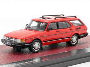 Saab 900 Safari year 1990 red 1:43 Matrix