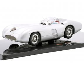 Mercedes-Benz W196 R Streamliner year 1954 silver 1:43 Ixo