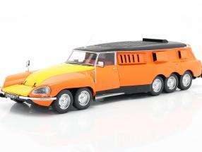 Citroen DS PLR Break Michelin Mille Pattes 1972 orange / yellow / black 1:18 CMR