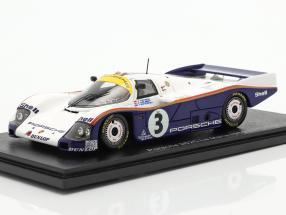 Porsche 962C #3 24h LeMans 1985 Holbert, Watson, Schuppan 1:43 Spark
