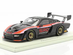 Porsche 935/19 SRO black / red / orange / pink 1:43 Spark