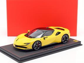 Ferrari SF90 Stradale year 2019 Modena yellow / black  BBR