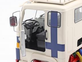 Volvo F88 Truck Polar Express 1965 white / blue / red