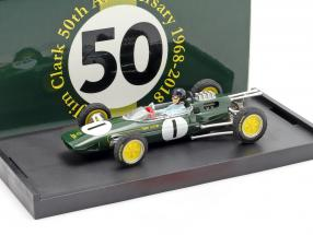 Jim Clark Lotus 25 #1 World Champion Belgium GP formula 1 1963 1:43 Brumm