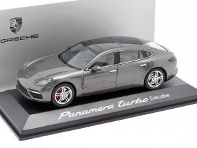 Porsche Panamera Turbo (2. Gen.) Executive agate gray metallic 1:43 Herpa