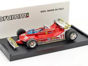 Jody Scheckter Ferrari 312 T4 #11 World Champion GP Monaco Formula 1 1979 1:43 Brumm
