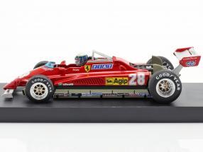 Didier Pironi Ferrari 126C2 Turbo #28 GP San Marino formula 1 1982