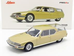 Citroen SM Shooting Brake gold metallic 1:18 Schuco