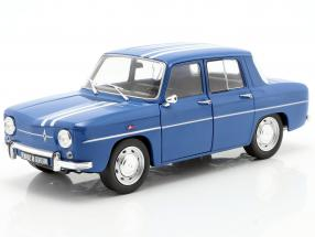 Renault 8 Gordini 1100 year 1967 blue 1:18 Solido