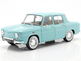Renault 8 Major year 1967 light blue 1:18 Solido