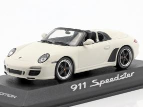Porsche 911 (997) Speedster built in 2010 white 1:43 Minichamps
