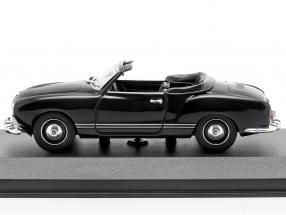 Volkswagen VW Karmann Ghia Cabriolet 1955 black