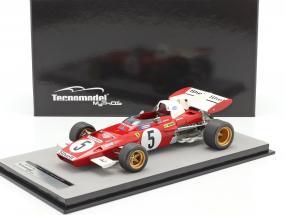 Mario Andretti Ferrari 312B2 #5 4th German GP F1 1971 1:18 Tecnomodel