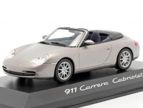 Porsche 911 (996) Carrera Cabriolet grey 1:43 Minichamps