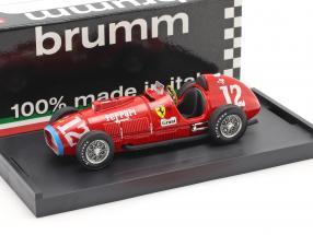 Alberto Ascari Ferrari 375 #12 World Champion Indianapolis Formula 1 1952 1:43 Brumm