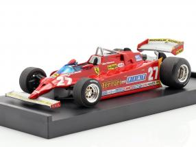 Villeneuve Ferrari 126CX comprex #27 Practice GP USA formula 1 1981 1:43 Brumm