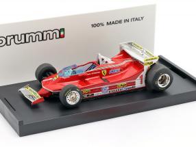 Jody Scheckter Ferrari 312T5 #1 Monaco GP formula 1 1980 1:43 Brumm