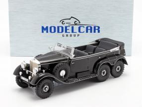 Mercedes-Benz G4 (W31) year 1934-1939 black 1:18 Model Car Group