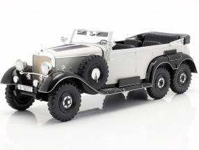 Mercedes-Benz G4 (W31) year 1934-1939 light grey 1:18 Model Car Group
