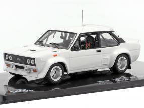 Fiat 131 Abarth 1978 Rally Specs Plain Body Version white