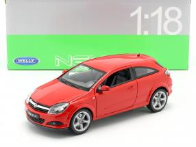 Opel Astra GTC year 2005 red 1:18 Welly