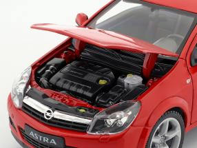 Opel Astra GTC year 2005 red