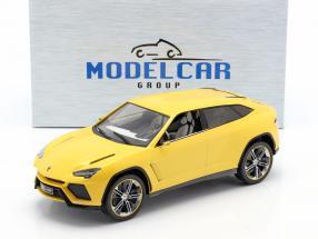 Lamborghini Urus yellow metallic 1:18 Model Car Group