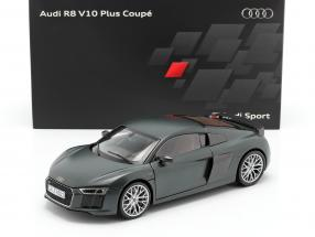 Audi R8 V10 Plus Coupe camouflage mat green 1:18 Kyosho