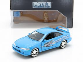 Mia's Honda Acura Integra 1995 Movie Fast & Furious (2001) blue  Jada Toys