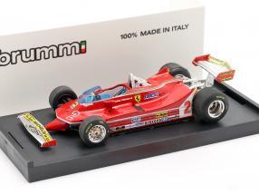 Gilles Villeneuve Ferrari 312T5 #2 Brazil GP formula 1 1980 1:43 Brumm