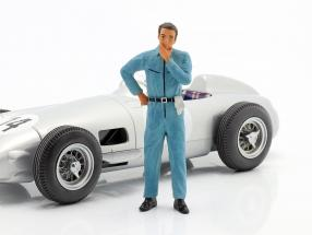 mechanic with blue overall pensive figure 1:18 FigurenManufaktur