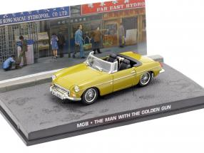 MGB James Bond Movie Car The Man with the golden gun (1974) green beige 1:43 Ixo