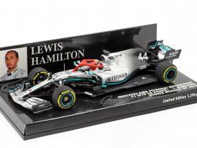 L. Hamilton Mercedes-AMG F1 W10 #44 Monaco GP World Champion F1 2019 1:43 Minichamps