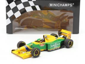 Riccardo Petrese Benetton B193B #6 3rd British GP formula 1 1993 1:18 Minichamps