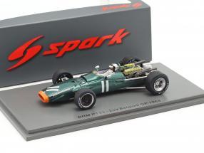 Pedro Rodriguez BRM P133 #11 2nd Belgien GP Formel 1 1968 1:43 Spark