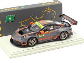 Porsche 911 GT3 R #911 FIA GT World Cup Macau 2019 A. Imperatori 1:43 Spark